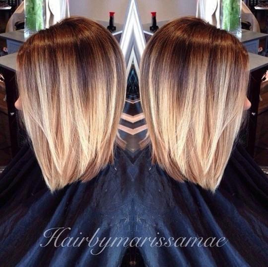 Окрашивание волос 2015