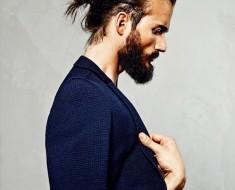 Длинные волосы и борода