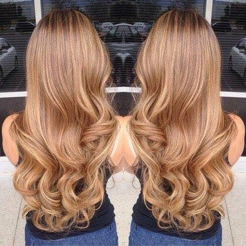 Кремовые волосы