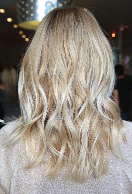 Лесенка сзади на волосах, фото