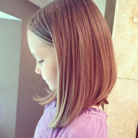 Стрижки для девочек 2015
