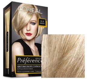 Серая краска для волос