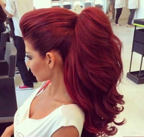 Рыжая краска для волос: огненные оттенки