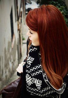 Рыжие волосы 2015, фото