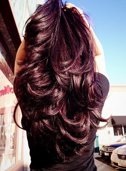 Махагон цвет волос