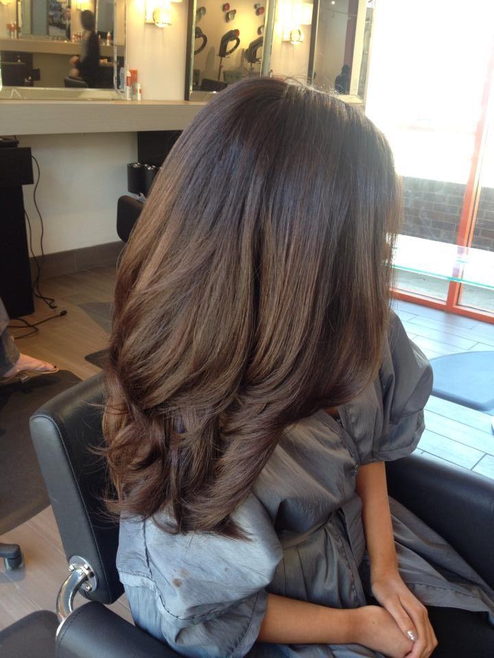 Шоколадные оттенки краски для волос, фото