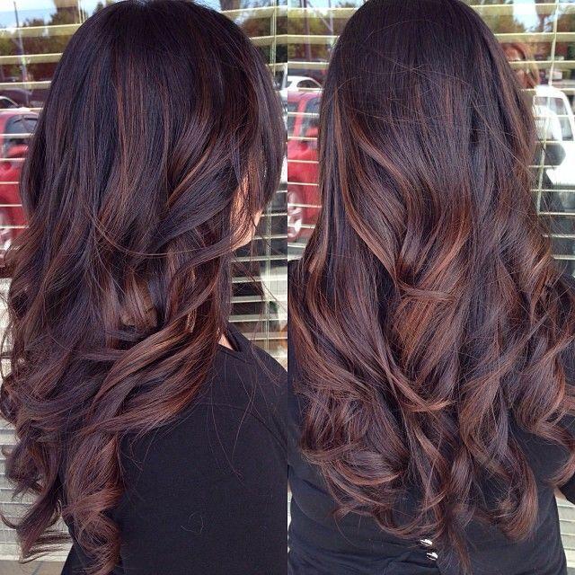 Цвет волос зима 2016