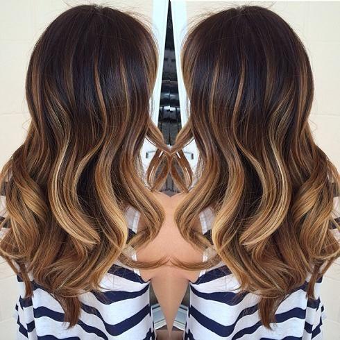 Цвет волос весна 2016