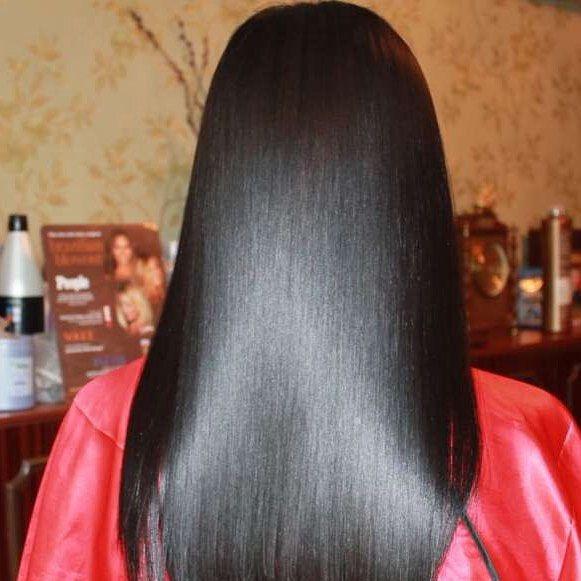 Последствия кератинового выпрямления волос