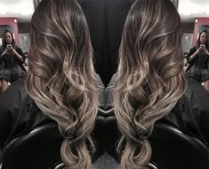 Балаяж на русые волосы, фото