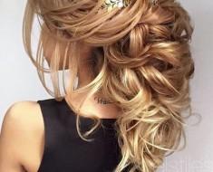 Свадебные прически на длинные волосы 2016