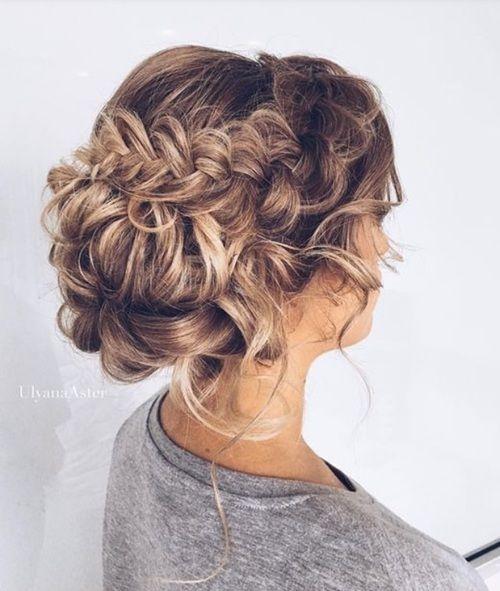 Прически на выпускной 2016 на средние волосы