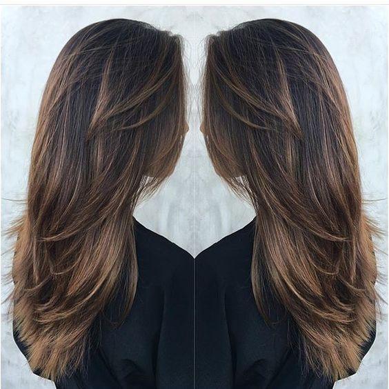 Каштановая краска для волос