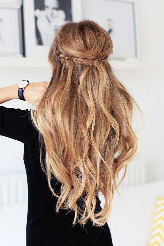 Прически на длинные волосы лето 2016
