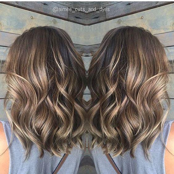 Прически на средние волосы 2016