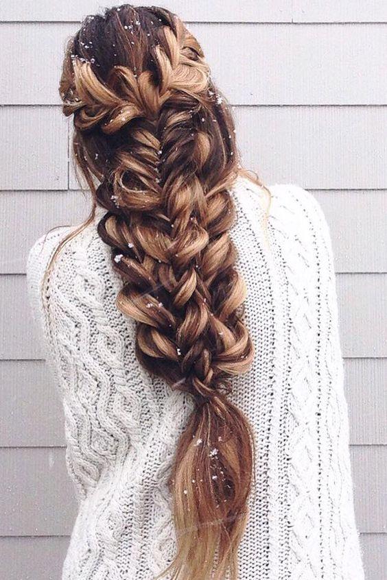Вечерние прически 2017 для длинных волос
