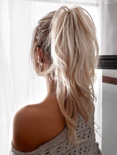 Прически для блондинок 2017