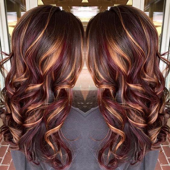 Покраска волос 2018