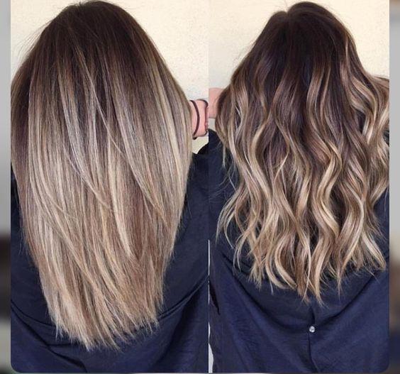 Окрашивание волос 2018