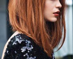 Модное окрашивание 2017 на средние волосы, фото