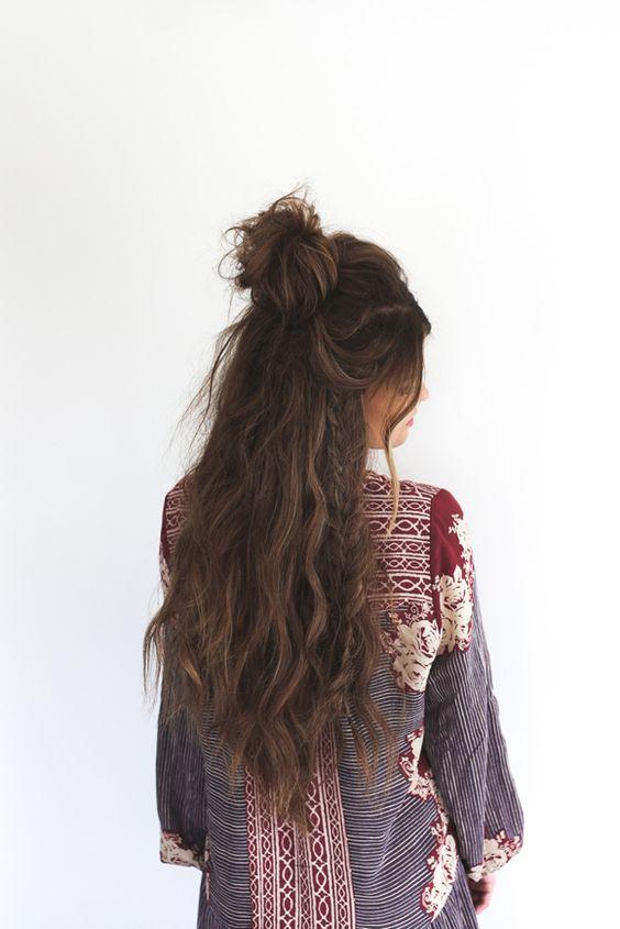 Прически на выпускной 2017 для длинных волос