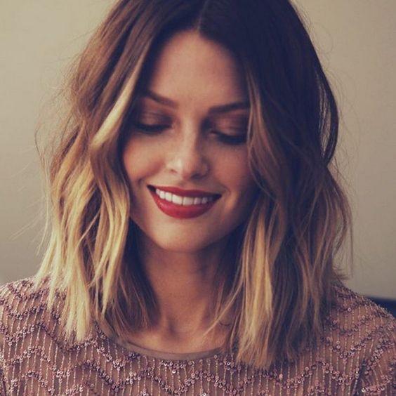 Модное окрашивание на короткие волосы 2017