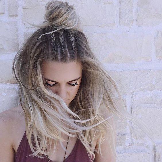 Прически на выпускной на средние волосы 2017