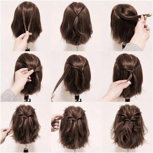 Домашние прически на длинные волосы пошаговоv