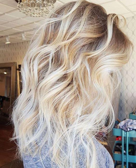 Омбре на русые волосы 2017