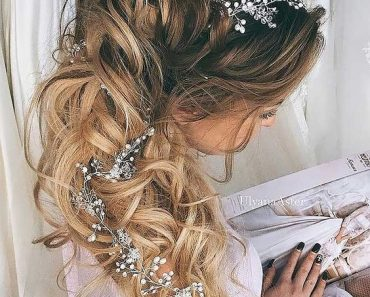 Свадебные косы 2017
