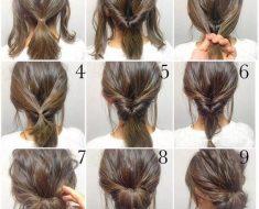 Домашние прически на длинные волосы пошагово