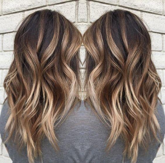 Омбре волос 2017