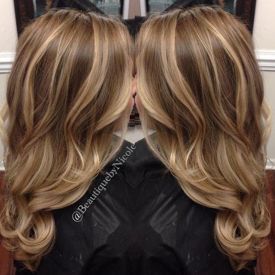 Цвет волос лето 2017