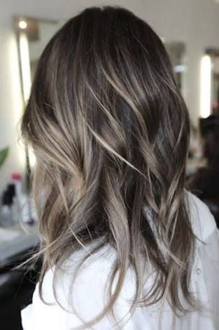 Русые волосы 2017