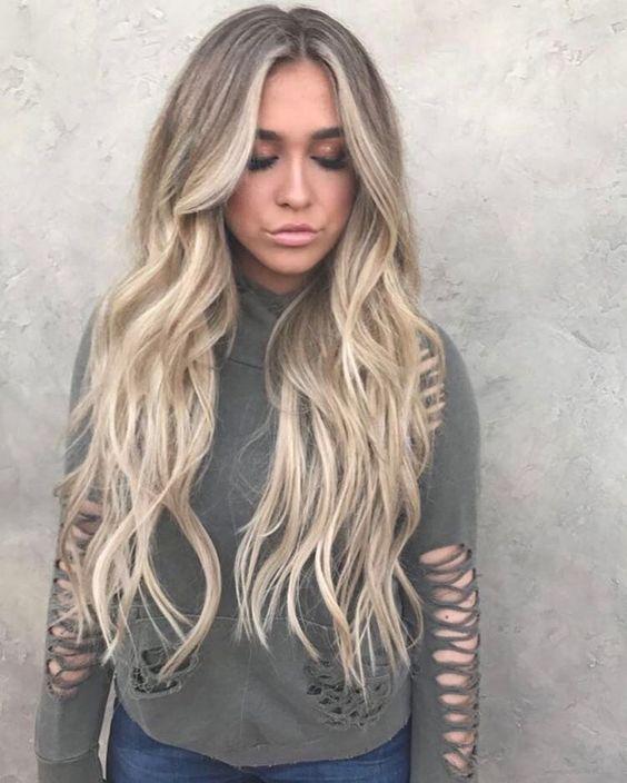 Челка на длинные волосы фото 2017