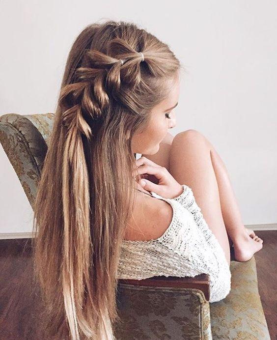 Прически на длинные волосы лето 2017