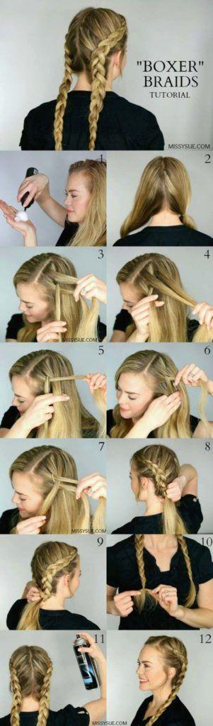 Косы на длинные волосы пошагово
