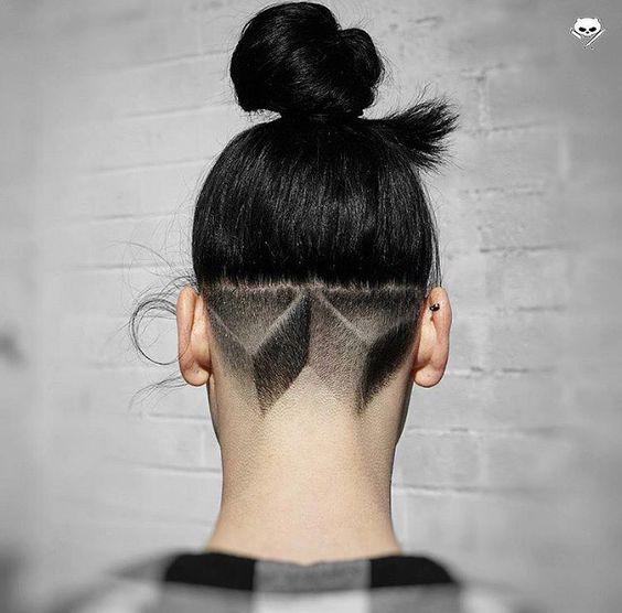 Креативные стрижки на короткие волосы 2017, фото