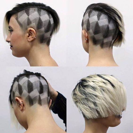 Короткие стрижки женские на тонкие волосы 2017