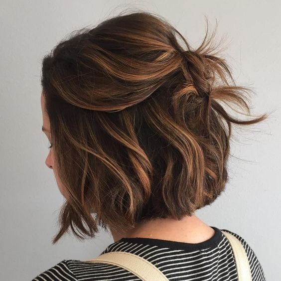 Цвет волос 2017 на короткие волосы
