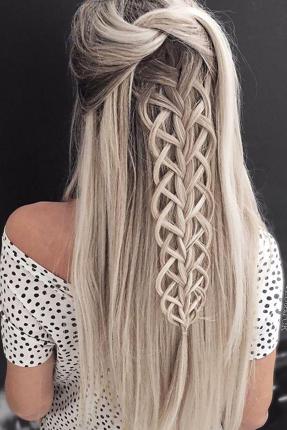 Модный блонд 2018