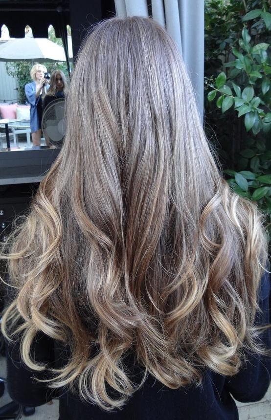Оттенки пепельного цвета волос