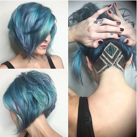 Стрижки на средние волосы 2018