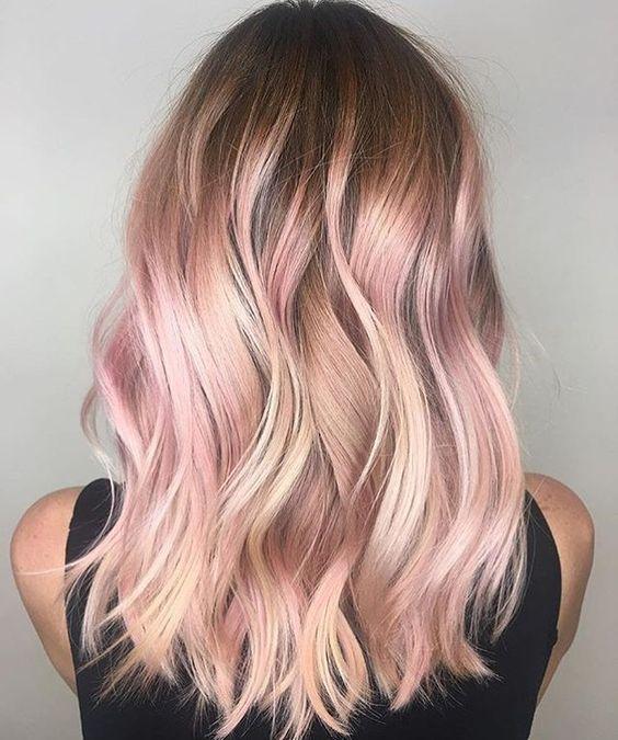 Окрашивание волос зима 2018