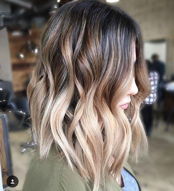 Окрашивание волос осень 2017/2018