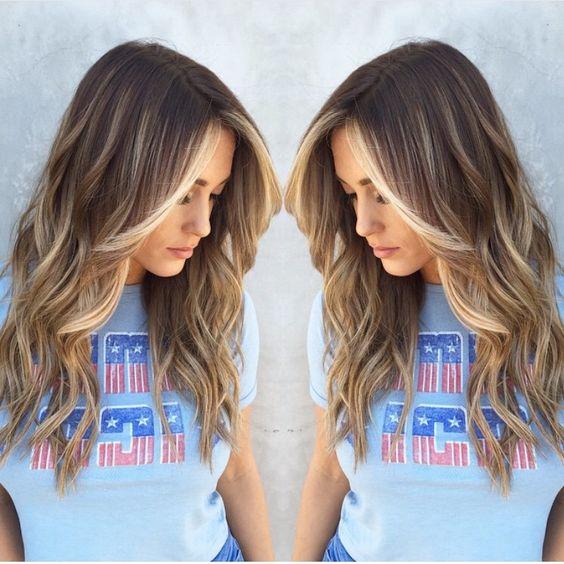 Цвет волос 2018
