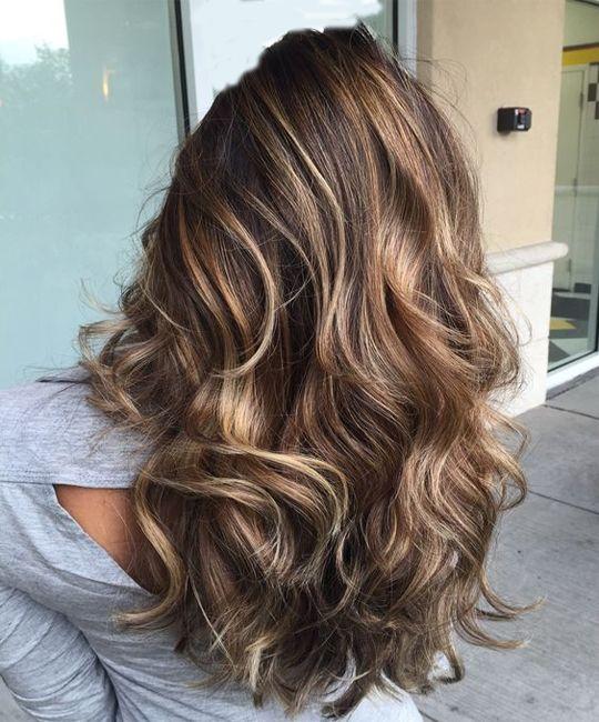 Причёски на длинные волосы 2018