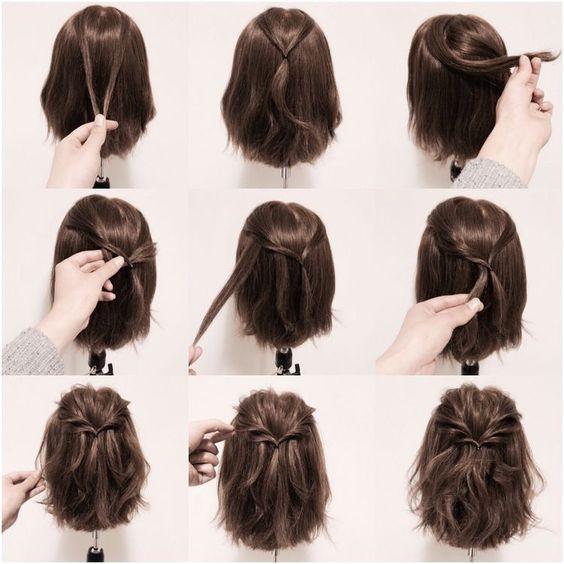Причёски на 1 сентября 2017