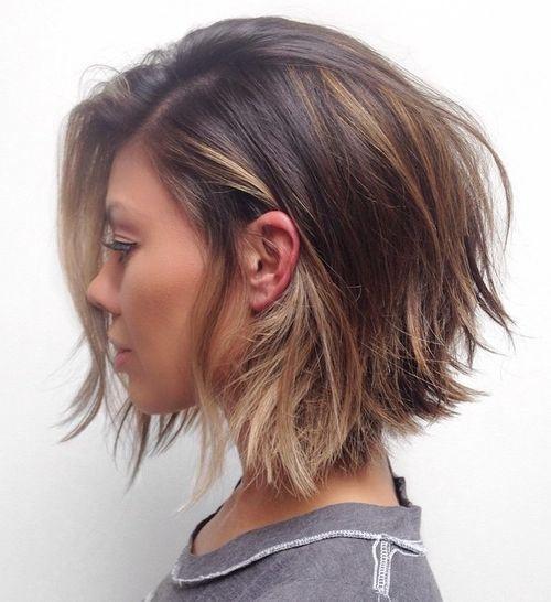 Стрижка боб на короткие волосы фото 2018
