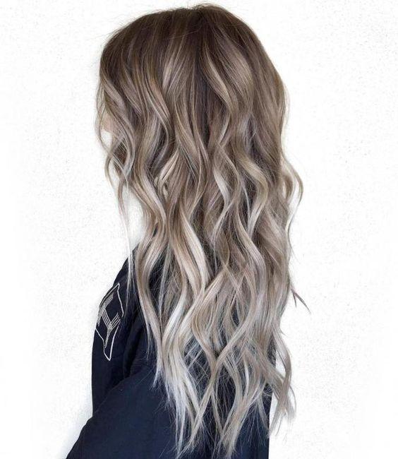 Колорирование волос 2018